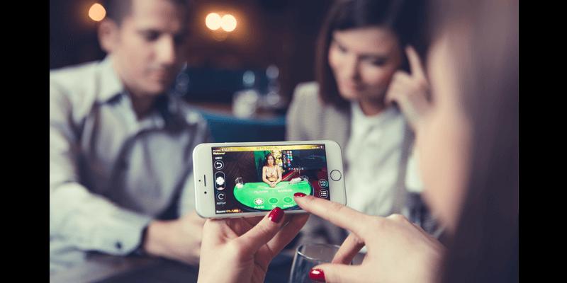 Live Casino in the mobile