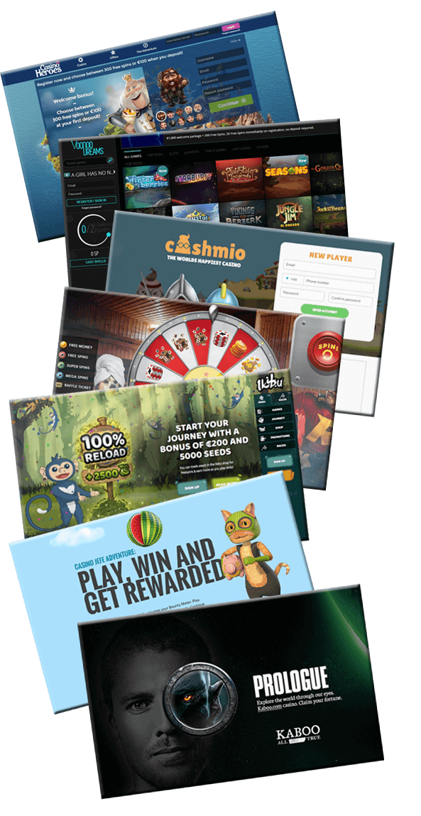 Latest online casinos