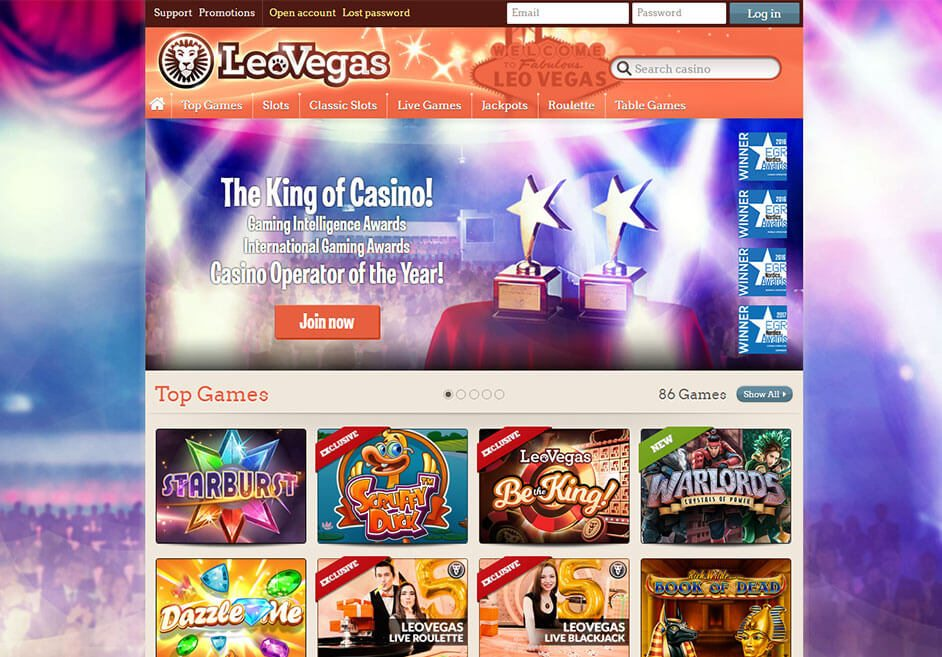 "Leo Vegas Casino won ""Online Casino Operator of the Year "" during the International Gaming Awards 2017 (IGA)"