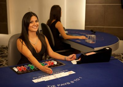 Playtech Live Casino Female Dealer