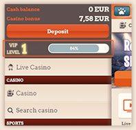 Leo Vegas VIP Level Mobile