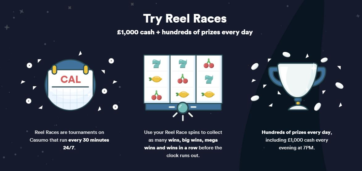 Casino Tournaments Starting Every 30 minutes