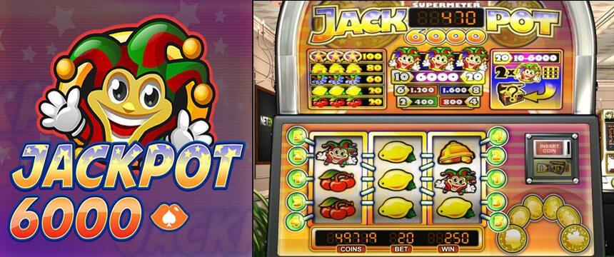Jackpot 6000 98,9% RTP