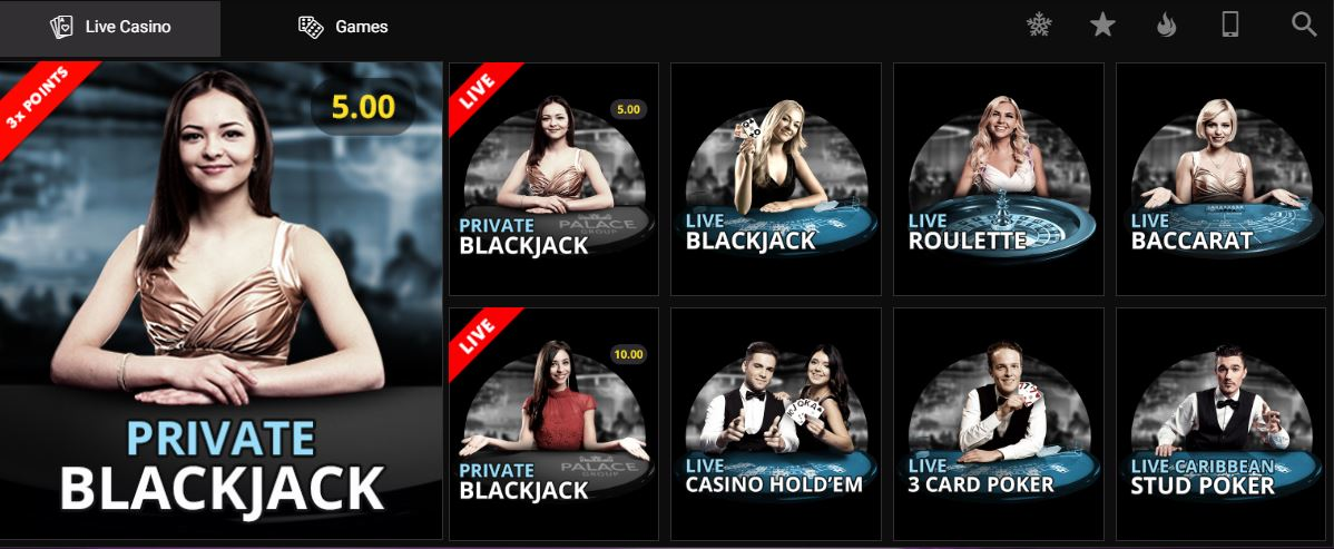 Play Live Casino Games from Microgaming