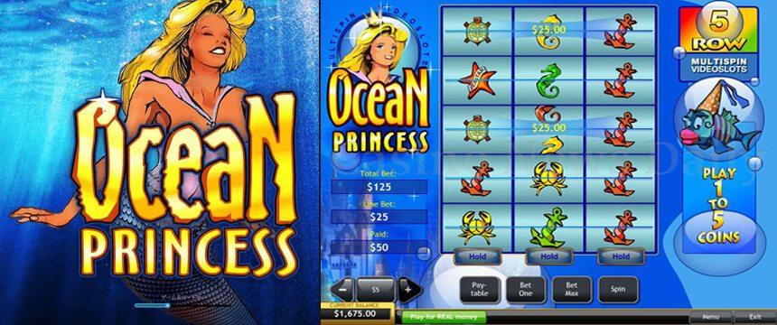 Ocean Princess 99,1% RTP