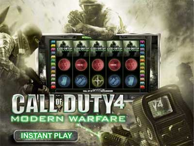 Call of Duty 4: Modern Warfare Online Casino Slot