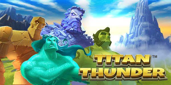 Titan Thunder Slot Wallpaper