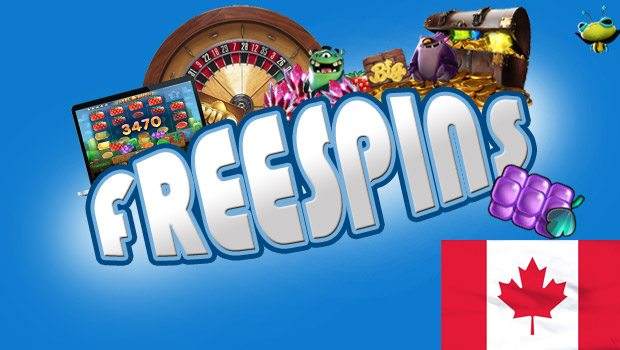 Top Three Casinos for Canadians Offering Free Spins