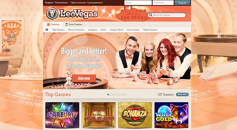 Leo Vegas 20 Free Spins on Book of Dead