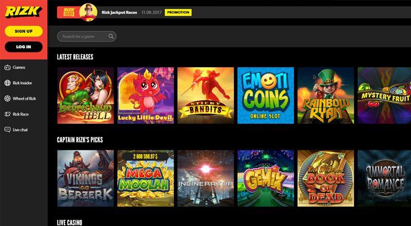online casino free spins canada