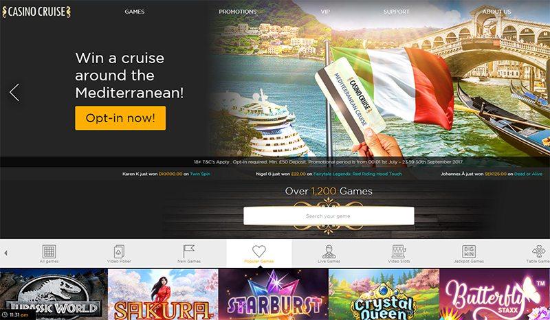 Win a cruise around the Mediterranean