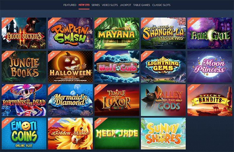 Over 500 Casino Games