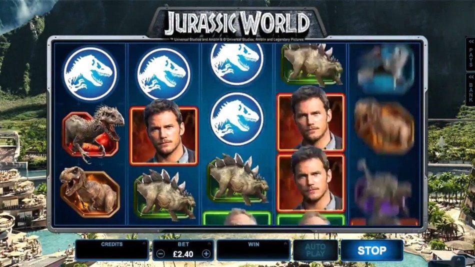Jurassic World Gameplay