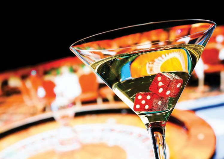land based casinos giving free drinks