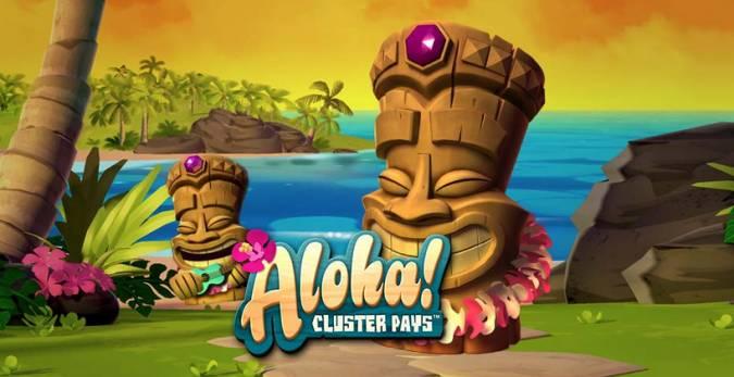 Aloha! Cluster Pays Video Slot Free Bonus