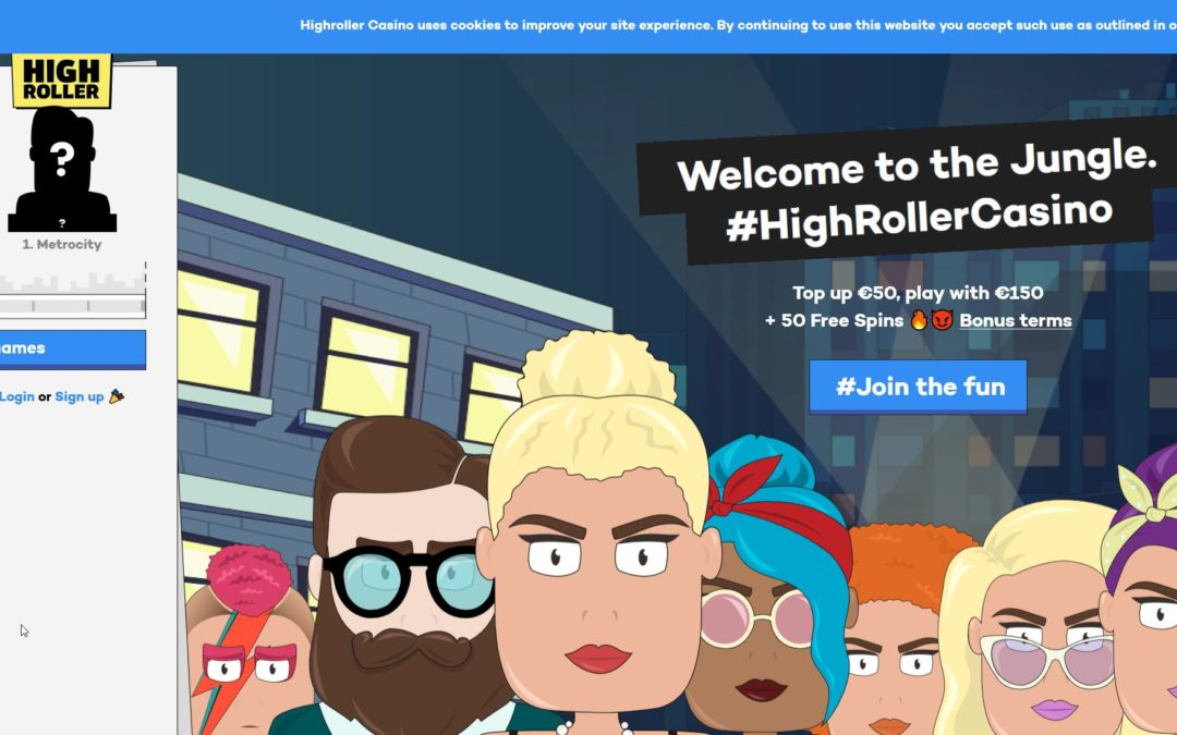 Highroller Casino Now Open to UK Players