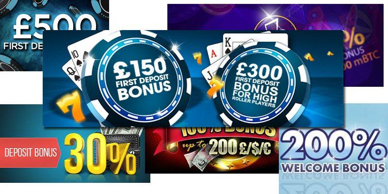How to claim deposit bonuses