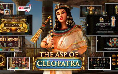 Red Rake Releases The Latest Egyptian-Themed Slot: Try Your Luck With The Asp of Cleopatra