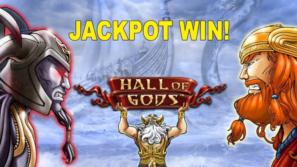 hallf of gods jackpot win