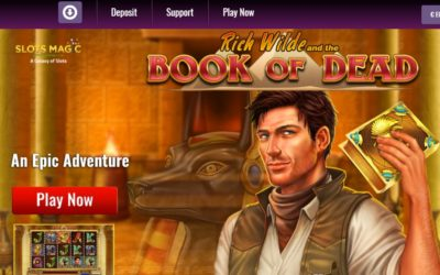Over 100 Play'n Go Slots Now Part of SlotsMagic Game Selection