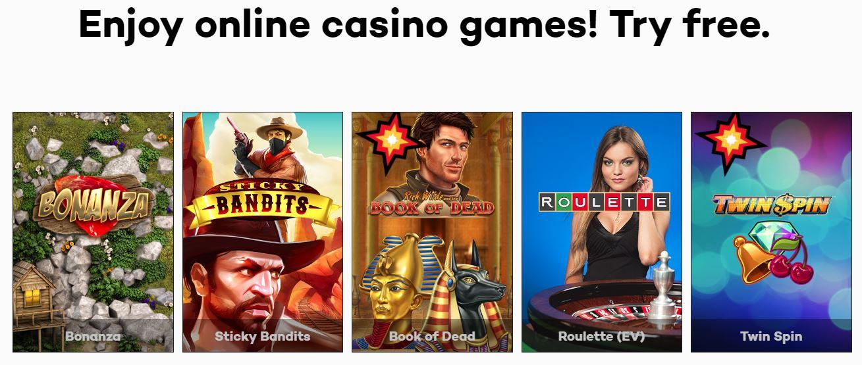 Highroller.com has over 500 casino games