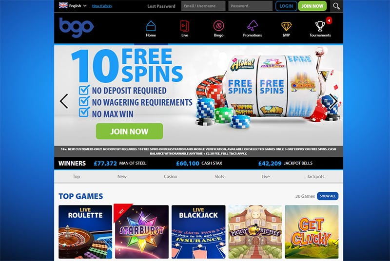 BGO has one of the most exciting VIP programs in the business