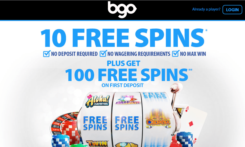 BGO Players Can Now Benefit From New Free Spins Offers